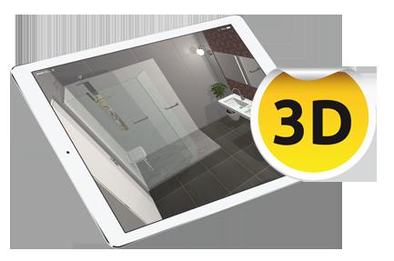 3D Visualisatie Badkamer Aanvragen